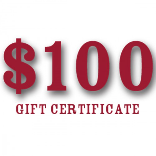 this month only one hundred dollar gift certificate for upgrading to